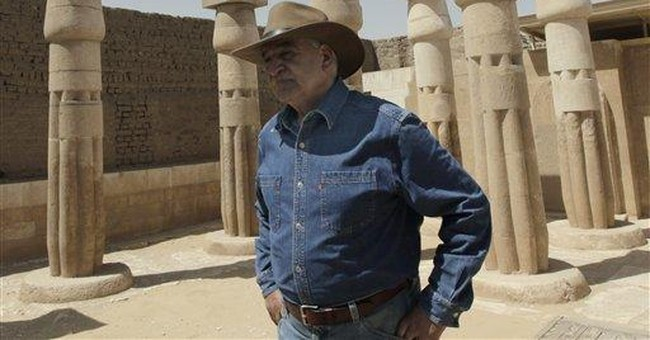 7 tombs in New Kingdom Cemetery open