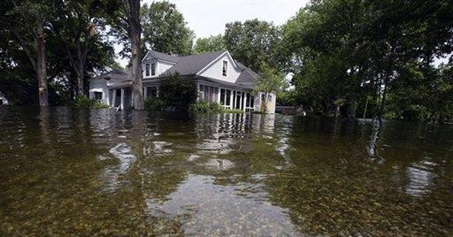 Fickle Miss. flooding frustrates some residents