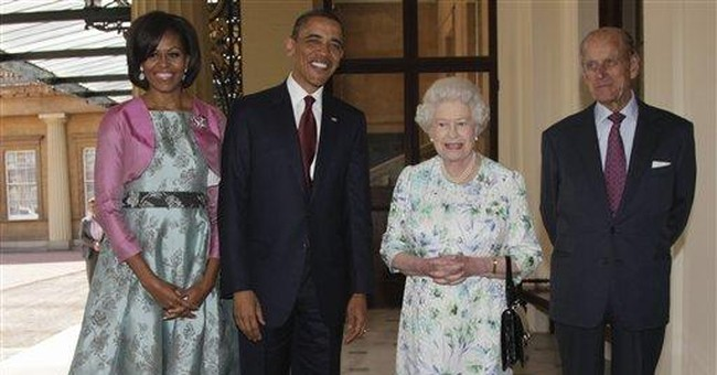 Michelle Obama wows Britain with her style