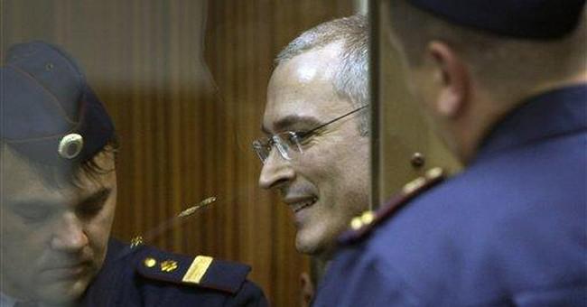 Jailed tycoon Khodorkovsky files for parole