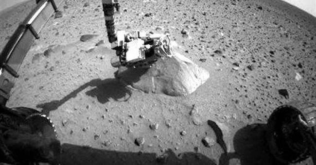 NASA hangs up on silent Mars rover Spirit
