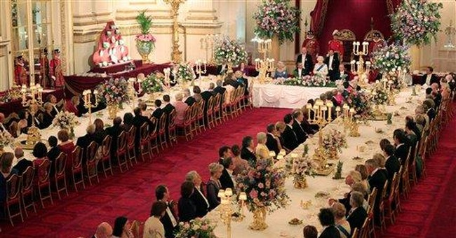 UK palace goes all-out for Obama state dinner