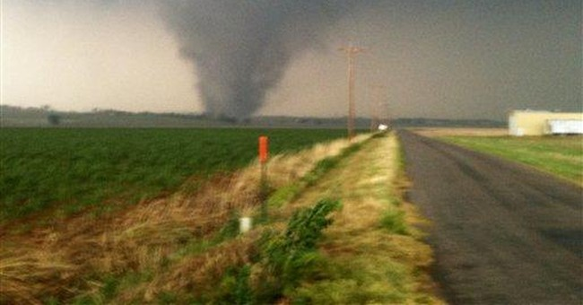 Forecasts, TV and luck eased tornado risk in Okla.