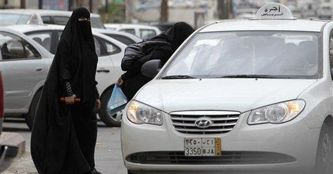 Rights group wants Saudi female driver freed