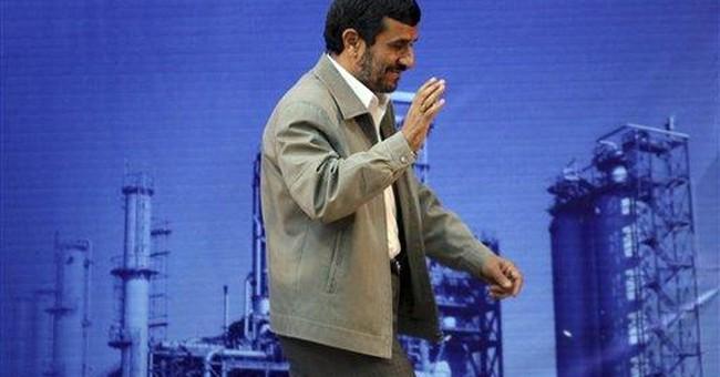 Blast hits Iran refinery as Ahmadinejad visits