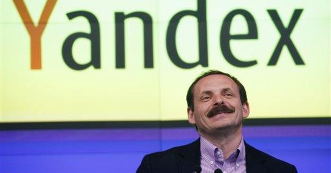 Shares of Russia's Yandex climb 40 pct in debut