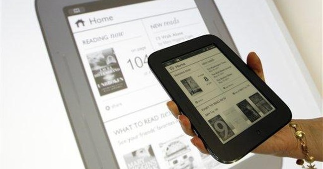Barnes & Noble launches touch-screen Nook for $139