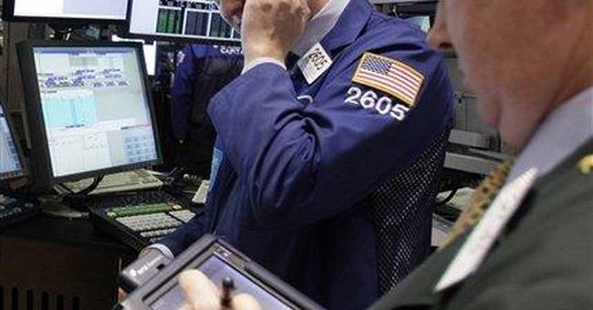 Stocks turn higher as crude oil tops $100 a barrel