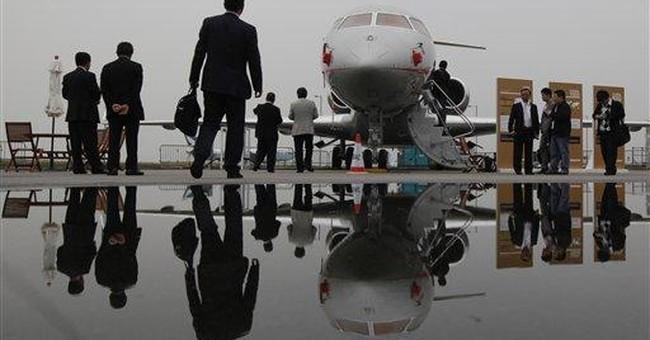 China's rich help private jet market take flight
