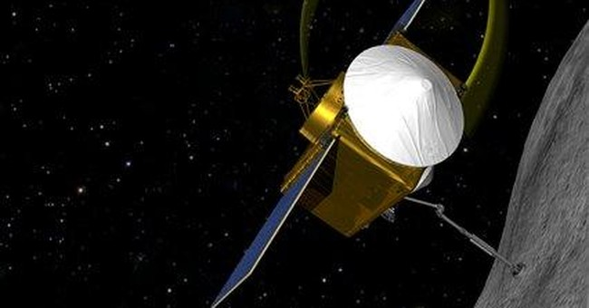 NASA spacecraft will pluck samples from asteroid