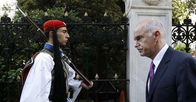 Greek Commissioner warns about leaving euro