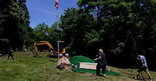 Wanderer from 1800s gets more peaceful NY grave