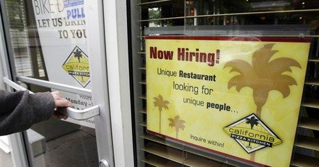 More people applied for unemployment benefits