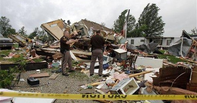 Powerful storms pound several central US states