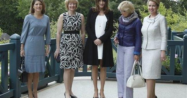 Bruni-Sarkozy backs anti-sexism campaign