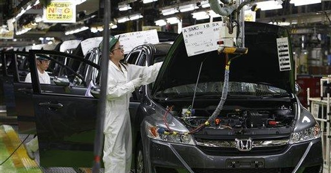 Honda sees near-normal American production in Aug.