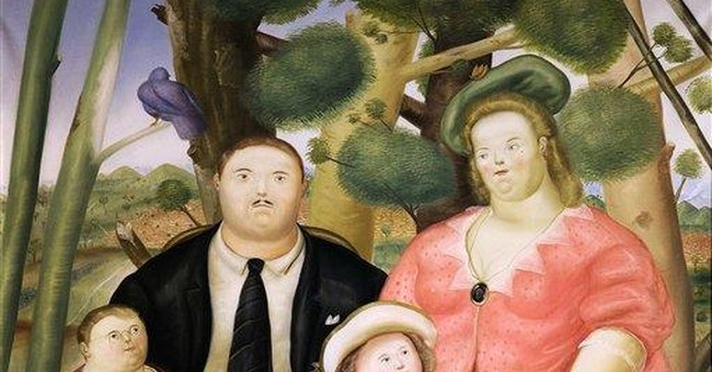 Botero's 'A Family' fetches $1.4M at NYC auction