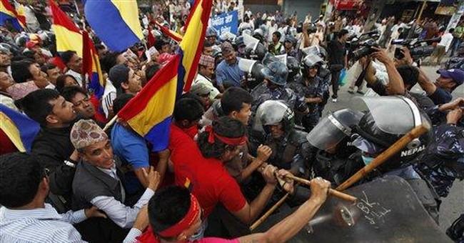 Political turmoil looms over Nepal's peaks