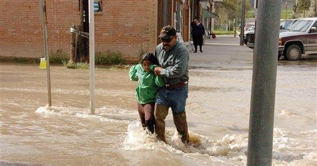 Officials: Mont. floods could be worst in decades