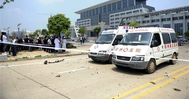 Explosions in south China city kill 3, wound 9
