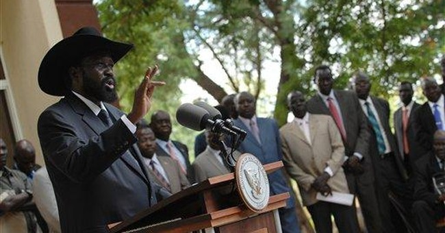 Southern Sudan pres: 'We will not go back to war'