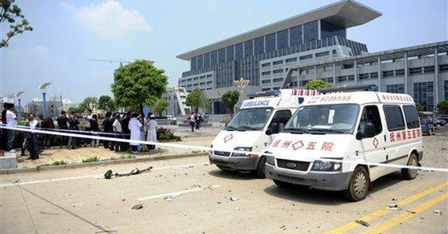China bomber seen as champion of disenfranchised