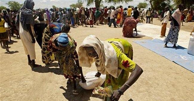 Fleeing residents flood Sudan town; food scarce