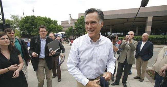 Romney hedges on support for GOP budget outline