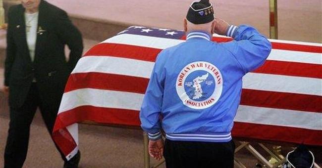Korean War POW finally buried after 60 years