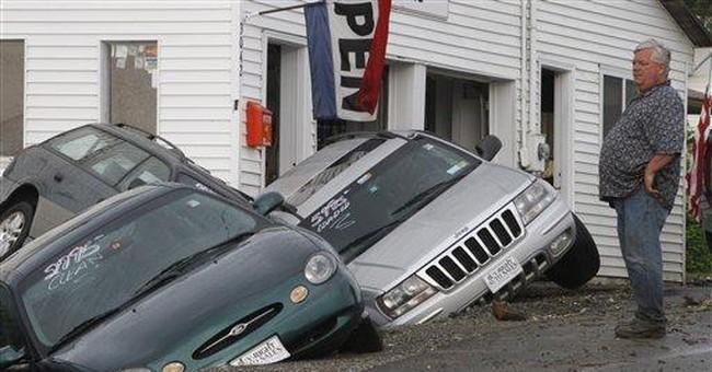 Severe storms wreak havoc from Vermont to Georgia