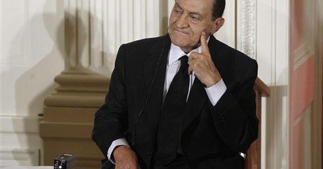 Egypt fines Mubarak for Internet, phone disruption