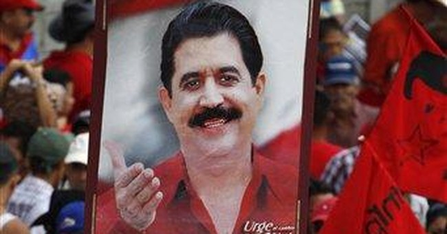 Ex-leader returns to Honduras 2 years after ouster
