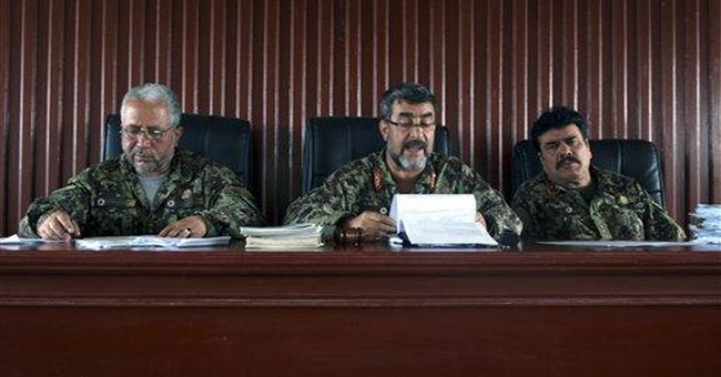 Afghan army salary theft shows fraud widespread