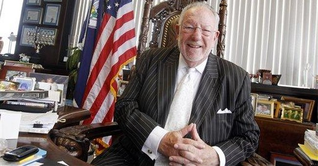 Las Vegas Mayor Goodman reluctantly says goodbye