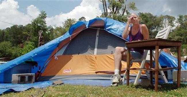Ala. town hit by tornadoes bans FEMA trailers