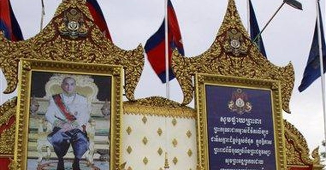 Cambodia's king seen as a 'prisoner' in his palace