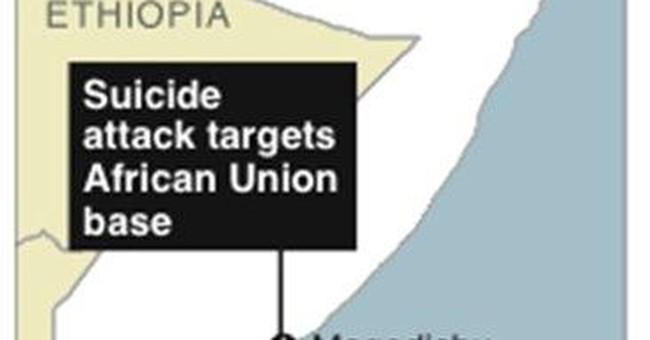 Suicide attack on AU base in Somalia kills 3
