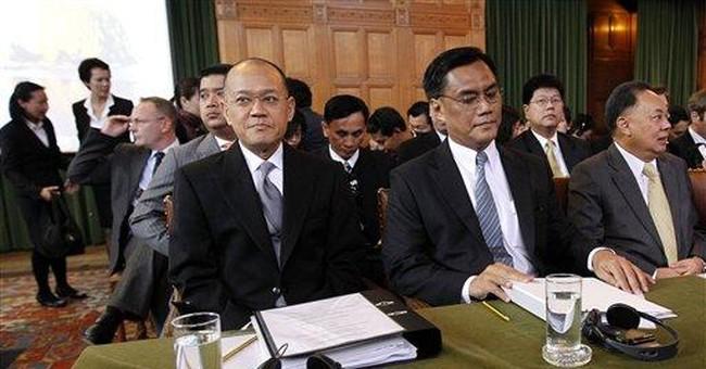 Cambodia-Thailand border dispute at UN court