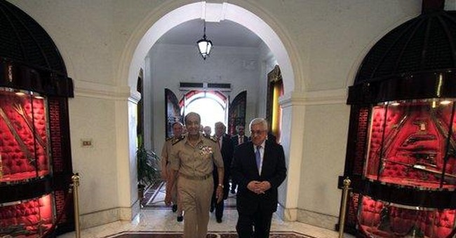 Palestinian, Egyptian leaders discuss peace