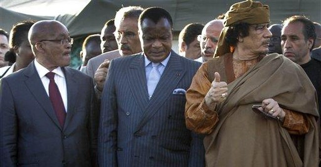 South African president: Gadhafi ready for truce