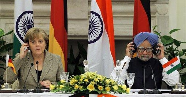 Germany's Merkel on high-profile visit to India