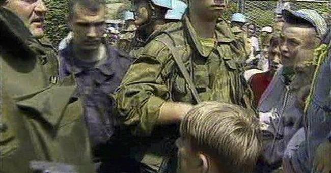 AP Exclusive: Boy in Mladic video looks back