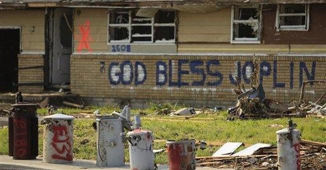 9 days after tornado, rebuilding begins in Joplin
