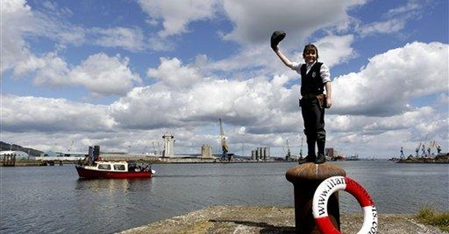 Belfast marks 100th anniversary of Titanic launch