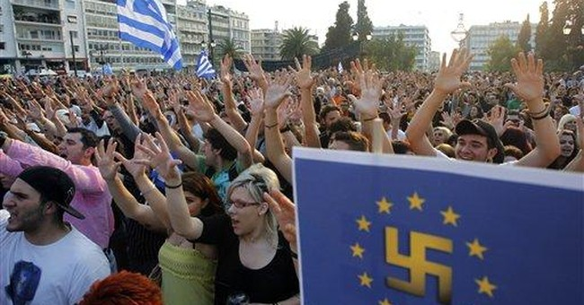 Europe locked in 'chaotic' debate over Greece