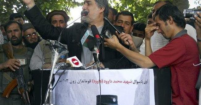 Afghan civil unrest threatening peace effort