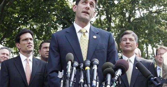 GOP presses Obama on spending cuts, Medicare