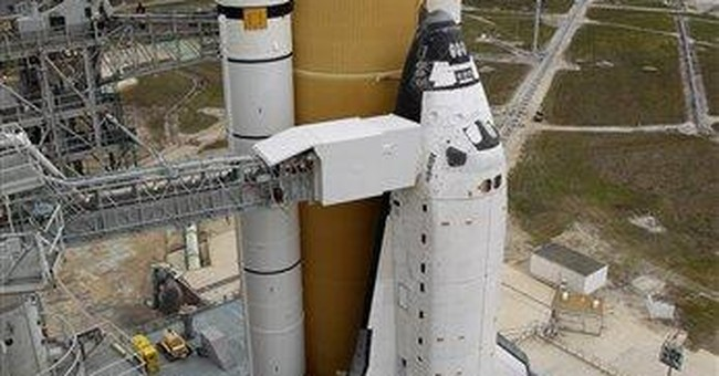 2nd last space shuttle lands; final on launch pad
