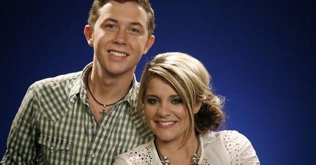 'Idol' winner, runner-up play like a country duo