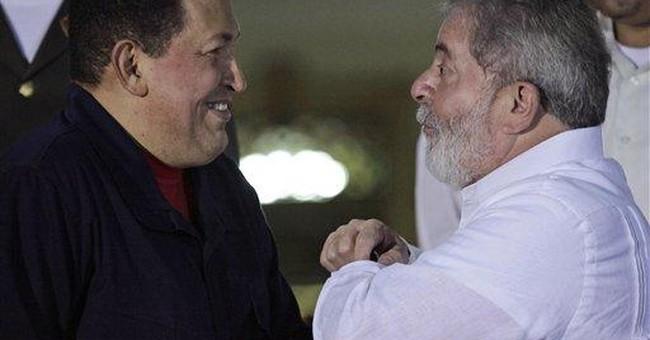 Chavez: We won't tolerate rebels in Venezuela